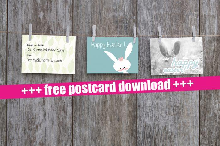 Gratis Postkarten – einfach downloaden!